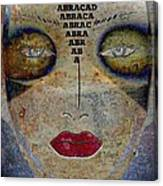 Between Worlds - Masked Series Canvas Print