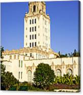Beverly Hills Police Station Canvas Print