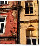 Beyoglu Old Houses 02 Canvas Print