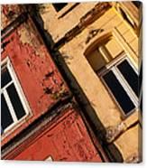 Beyoglu Old Houses 03 Canvas Print