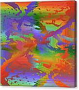 Beyond The Albatross Rainbow Canvas Print