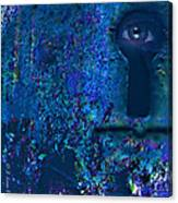Beyond The Door - Abstract Canvas Print