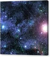 Beyond The Stars Canvas Print