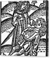 Bezoar Stone, 1491 Canvas Print