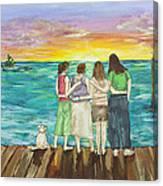 Bff Morning Canvas Print