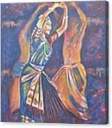 Bharatha Naatayam 3 Canvas Print