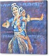 Bharatha Naatyam Canvas Print