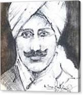 Bharathi Canvas Print