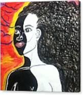 Bi-racial Canvas Print