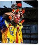 Bian Jiang Dancer Acanthus Canvas Print