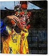 Bian Jiang Dancer Lux Hp Canvas Print