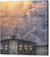 Biblical Sunset Canvas Print
