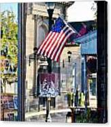 Biblion Used Books Reflections 2 - Lewes Delaware Canvas Print