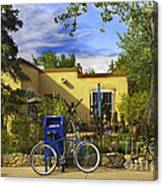 Bicycle In Santa Fe Canvas Print