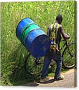 Bicycle Strain Canvas Print