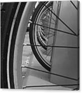 Bicycle Tires..... Canvas Print