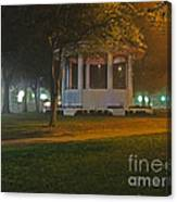 Bienville Square Grandstand In A Foggy Mist Canvas Print