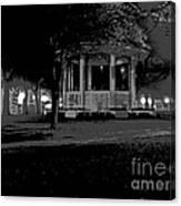 Bienville Square Grandstand Posterized Canvas Print