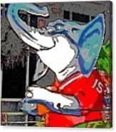 Big Al - Bama's Mascot Canvas Print
