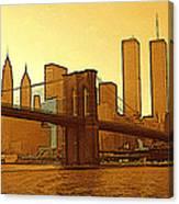 New York City - Big Apple Sunrise Canvas Print