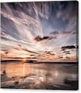 Atlantic Sky Canvas Print