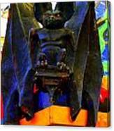 Big Bad Bat Canvas Print