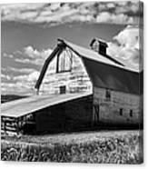 Big Barn Near Ellensburg Washington 2 Canvas Print