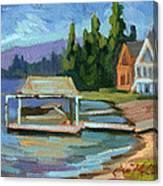 Big Bear Lake South Shore 2 Canvas Print