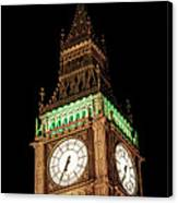 Big Ben Close Up Canvas Print