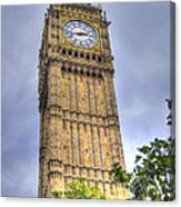 Big Ben - Elizabeth Tower Canvas Print