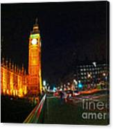 Big Ben - London Canvas Print