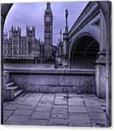 Big Ben Through The Arch Canvas Print