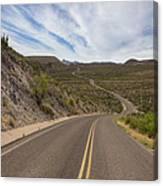 The Winding Roads Of Big Bend National Park Canvas Print