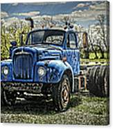 Big Blue Mack Canvas Print