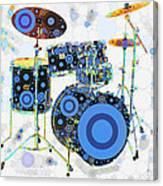 Big Boom Bullseye Canvas Print