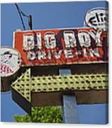 Big Boy Drive-in Canvas Print