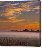 Big Break Ground Fog Canvas Print