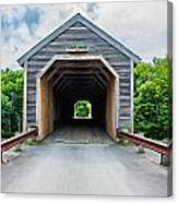 Big Covered Bridge Canvas Print