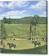 Big Creek Trail Ride Canvas Print