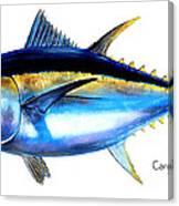 Big Eye Tuna Canvas Print