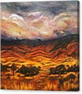 Big Gountry - Mac Donnell Ranges Australia Canvas Print