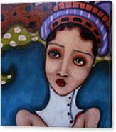 Big Head-dress Canvas Print