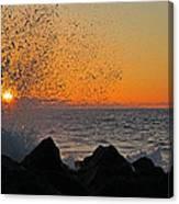 Big Island Hawaii Kona Sunset Canvas Print