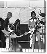 Big Jam At Day On The Green 1976 Canvas Print