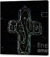 Big Jesus Canvas Print