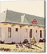Big L Railroad Station Canvas Print
