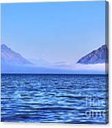 Big Lake In Newzealand Canvas Print