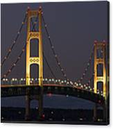 Big Mackinac Bridge 55 Canvas Print