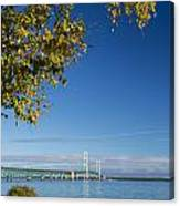 Big Mackinac Bridge 57 Canvas Print