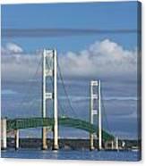 Big Mackinac Bridge 59 Canvas Print